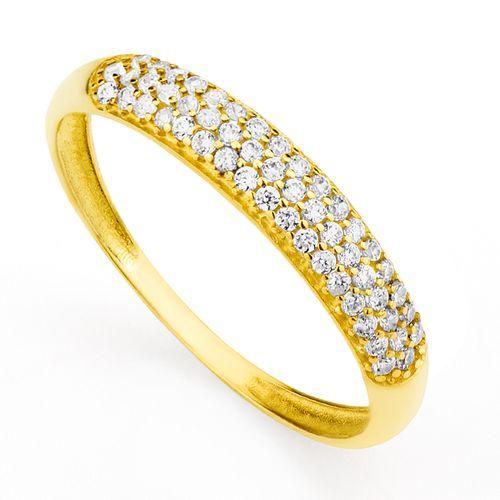 Imagem de Anel de ouro feminino