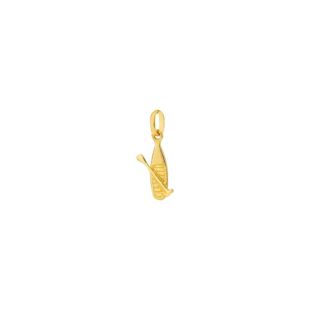 Pingente em Ouro 18k Esporte Canoagem pi18789