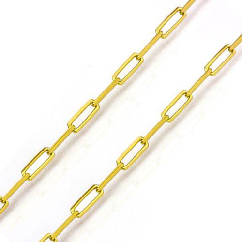 corrente ouro cartier longa