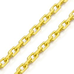 corrente ouro cartier 14