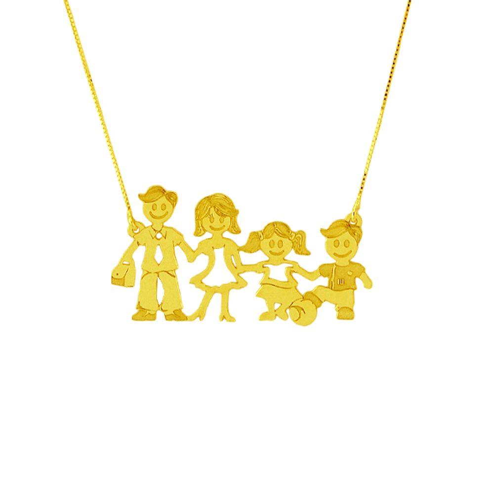 Gargantilha de ouro