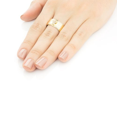 anel em ouro