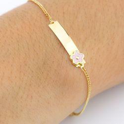 pulseira em ouro