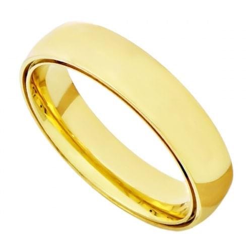 5b9f0a8d896 Alianças de Casamento em Ouro 18k Dupla Anatômica Lisa ead50 - joiasgold