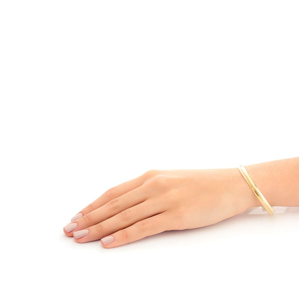 Pulseira em Ouro 18k Bracelete Algema pu03487 - joiasgold a6a32aa337