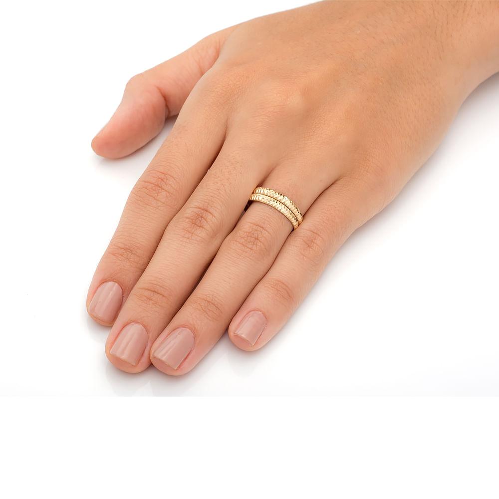 Par de Aparador em Ouro 18k Diamantado an31631 - joiasgold 67bc424552