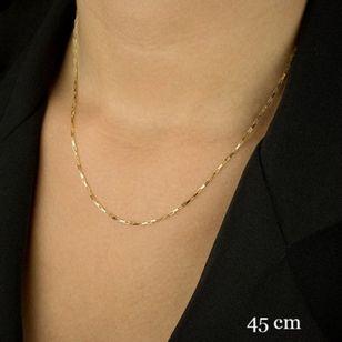 Corrente-em-Ouro-18K-Cartier-Quadrada-11mm