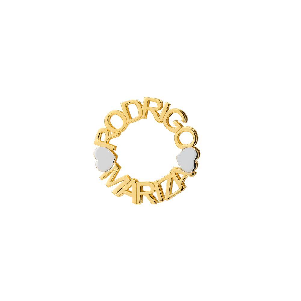 72b81d90f42c1 Pingente em Ouro 18k Mandala Nome até 13 Letras pi18594 - joiasgold
