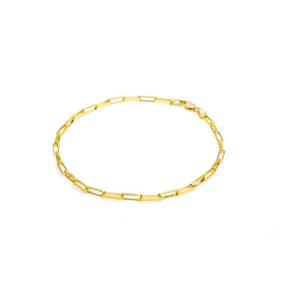 067d09fe907 Pulseira em Ouro 18k Cartier com 23cm pu04300 - joiasgold