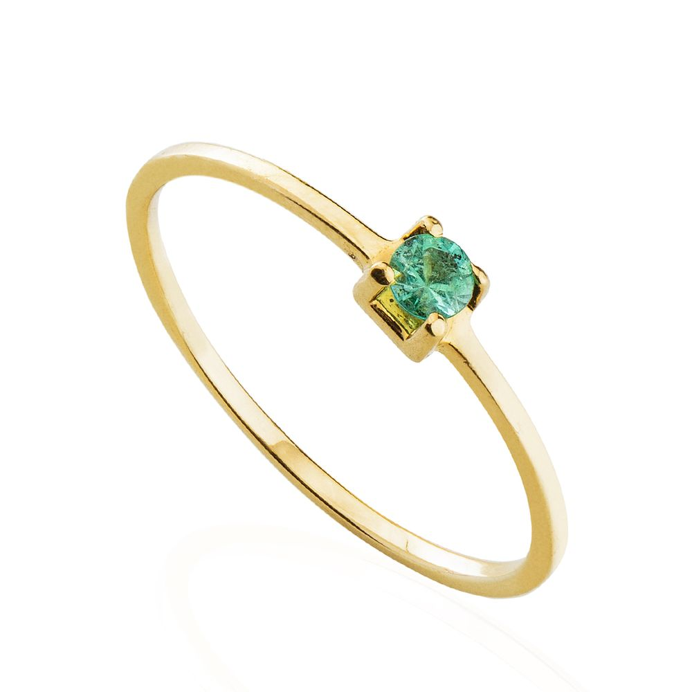 7809161ca3b anel-de-ouro-18k-cartier-esmeralda-3-0mm-