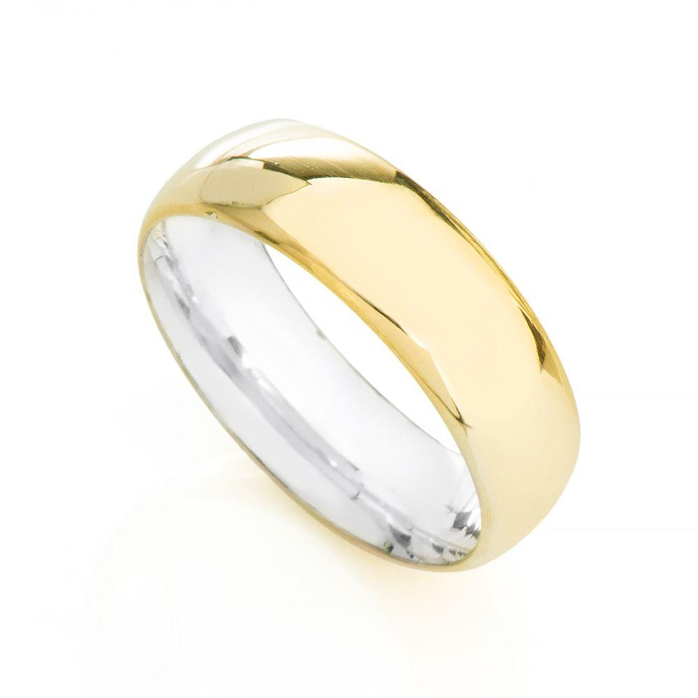 Aliança em ouro casamento feminina com prata earp jpg 1000x1000 Ouro 18k  noivado alianças de desenho f8cd0d6fac