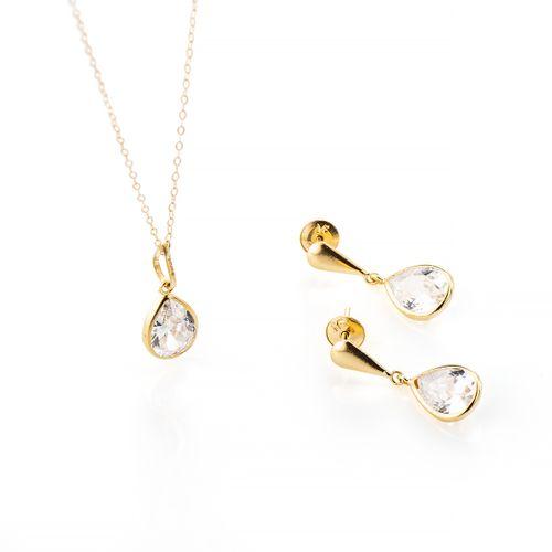 conjunto-em-ouro-18k-gota-zirconia-cj00193