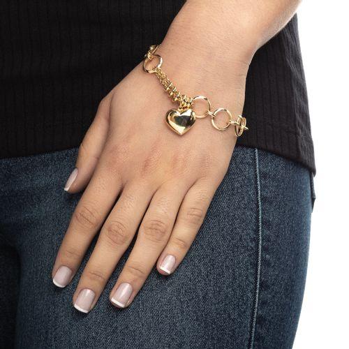 Pulseira-em-Ouro-18k--elos-com-coracao--Joiasgold-pu04903