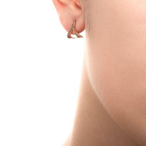 Brinco-de-Ouro-Rose-18k-Triangulo-com-Diamantes-Brown-br20751-joiasgold