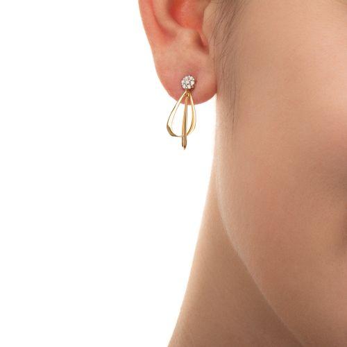 Brinco-de-Ouro-18k-Chuveiro-Fios-Flor-com-Diamantes-br23339-joiasgold