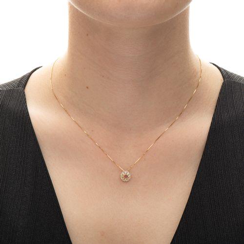 Gargantilha-em-Ouro-18k-Zirconia-Vermelha-com-Branca-ga03412-joiasgold