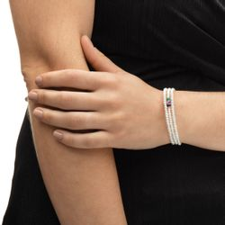 Bracelete-em-Ouro-18k-Perola-com-Rubi-Safira-e-Esmeralda-pu04977-joiasgold