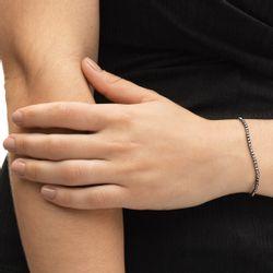 Pulseira-em-Ouro-Negro-18k-Bolas-Diamantadas-com-19cm-pu03758-joiasgold