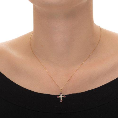 Pingente-em-Ouro-18k-Cruz-com-Diamantes-e-Rubis-pi07460-joiasgold
