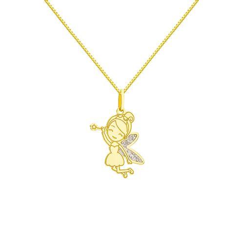 Escapulario-em-Ouro-18k-Fada-do-Dente-com-Diamantes-ga04649-joiasgold