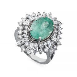 Anel-em-Ouro-Branco-18k-Turmalina-Paraiba-com-Diamantes-an34783-JOIASGOLD