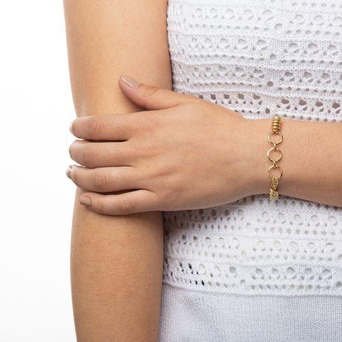 Pulseira-em-Ouro-18k-Circulos-Vazados-com-18cm-pu04899-joiasgold