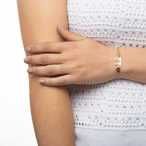 Pulseira-em-Ouro-18k-Meninas-Coracao-Amor-Eterno-com-Diamantes-pu04121-joiasgold