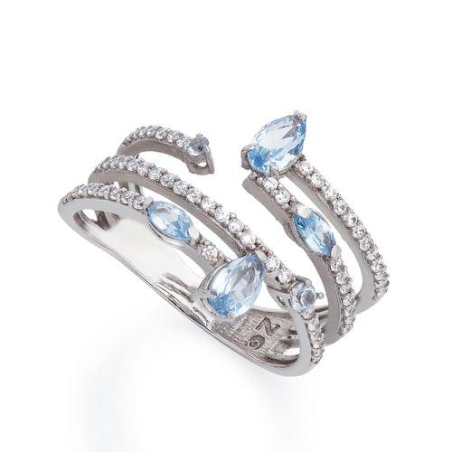 Anel-em-Ouro-Branco-18k-Espiral-Zirconia-Azul-e-Branca-an34543-joiasgold