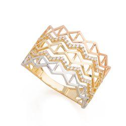 Anel-em-Ouro-18k-Losangos-Trabalhados-com-Zirconia-an35989-joiasgold