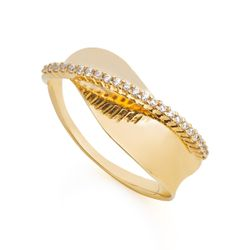 Anel-em-Ouro-18k-Concavo-Filete-Transpassado-Zirconia-an35991-joiasgold
