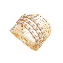 Anel-em-Ouro-18k-Fios-Ondulados-com-Zirconia-an35998-joiasgold
