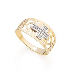 Anel-em-Ouro-18k-Aro-Vazado-Cruz-Rodinada-an36001-joiasgold