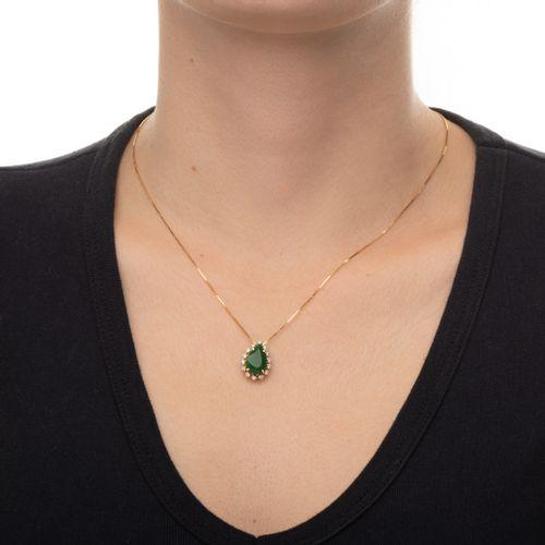 Gargantilha-em-Ouro-18k-Gota-Jade-com-Diamantes-de-45cm-ga02355-JOIASGOLD