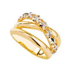 Anel-em-Ouro-18k-Flor-Rodinado-Fios-Sobrepostos-an35752-joiasgold