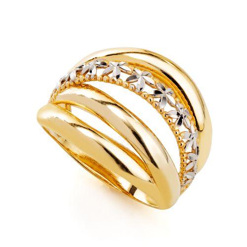 Anel-em-Ouro-18k-Flor-Rodinado-Fios-Sobrepostos-an35753-joiasgold