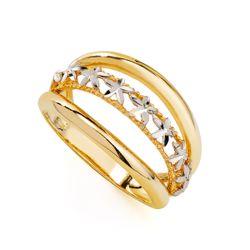 Anel-em-Ouro-18k-Flor-Rodinada-com-3-Fios-an35756-joiasgold