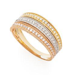 Anel-em-Ouro-18k-Fios-Trabalhados-Tricolor-com-Zirconia-an35986-joiasgold