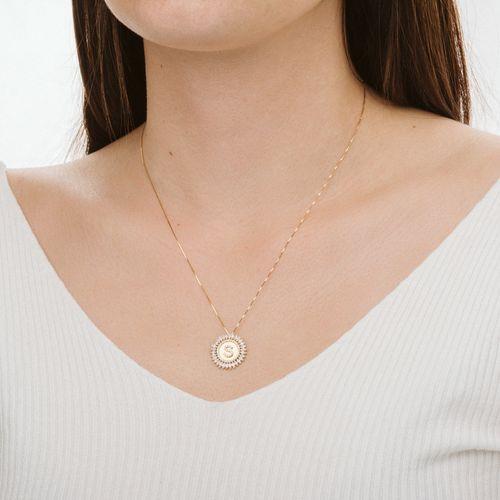 Gargantilha-em-Ouro-18k-Letra-S-com-Zirconia-de-45cm-ga03915-joiasgold