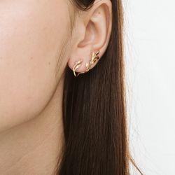 Brinco-de-Ouro-18k-Ear-Cuff-Folhas-com-Diamantes-br22488-joiasgold
