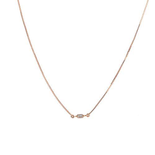 Gargantilha-em-Ouro-Rose-18k-Diamante-Veneziana-90cm-ga0302-joiasgold
