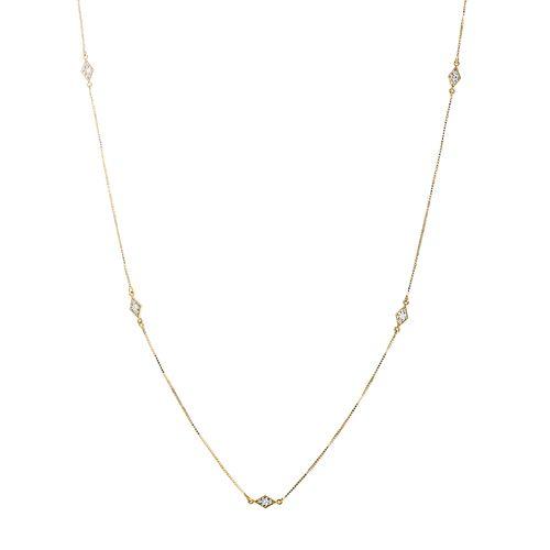 Gargantilha-em-Ouro-18k-Losangos-Rodinados-Veneziana-50cm-ga03438--joiasgold