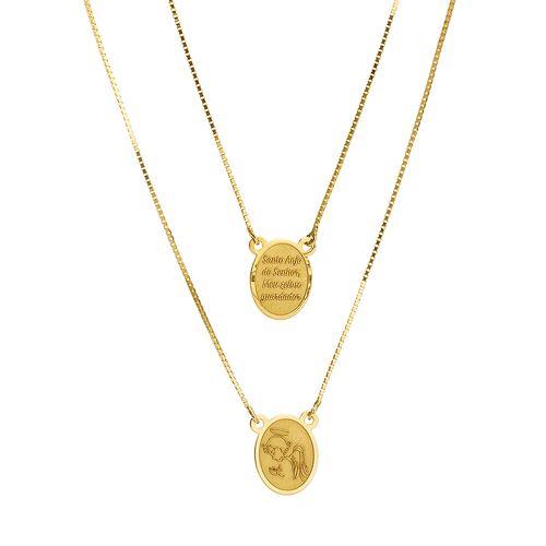Escapulario-em-Ouro-18k-Anjo-Da-Guarda-com-Oracao-60cm-ga0450-joiasgold