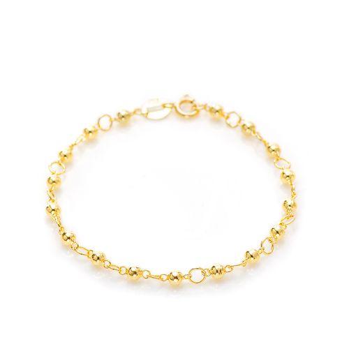 Pulseira-em-Ouro-18k-Infantil-Bolas-com-13cm-pu04950--joiasgold