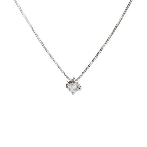 Gargantilha-em-Ouro-Branco-18k-Ponto-de-Luz-Cartier-Diamantes-ga03503--joiasgold
