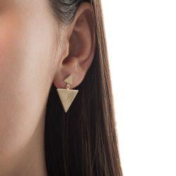 Brinco-em-Ouro-18k-Triangulo-Liso-2-em-1-br23598--joiasgold