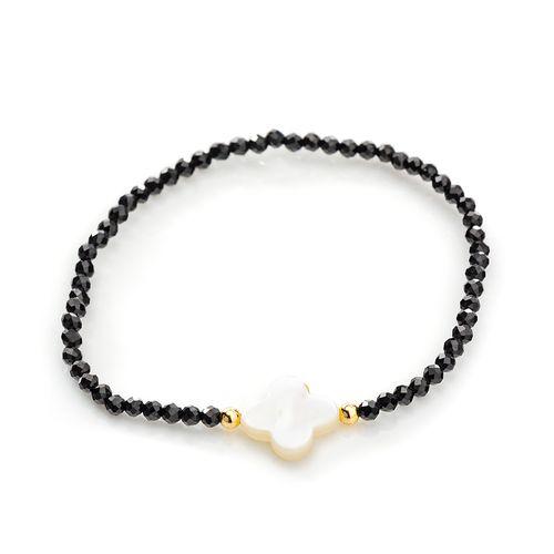 Pulseira-em-Ouro-18k-Flor-Madreperola-com-Espinelio-pu05056--joiasgold