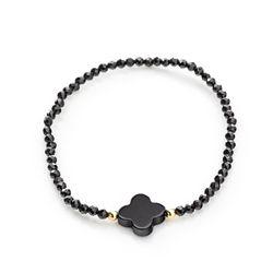 Pulseira-em-Ouro-18k-Flor-Agata-Negra-com-Espinelio-pu05057-joiasgold