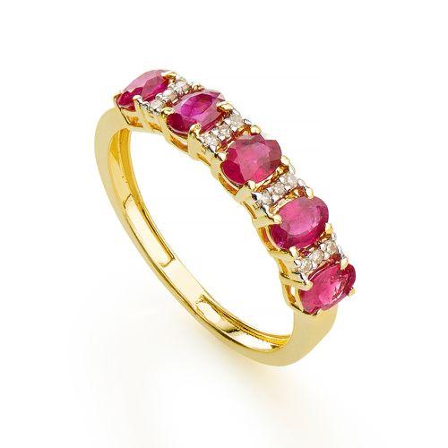 Anel-em-Ouro-18k-Meia-Alianca-Rubi-Oval-com-Diamante-an34358-joiasgold