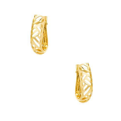 Brinco-em-Ouro-18k-Meia-Argola-Fios-Vazados-br23619-joiasgold