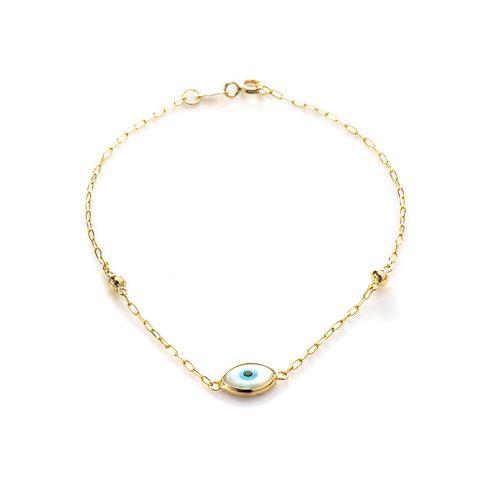 Pulseira-em-Ouro-18k-Olho-Grego-Cartier-com-18cm-pu05087-joiasgold